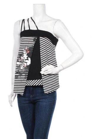 Γυναικείο αμάνικο μπλουζάκι La Mode Est A Vous, Μέγεθος S, Χρώμα Πολύχρωμο, 95% βισκόζη, 1% πολυαμίδη, 1% πολυεστέρας, 3% ελαστάνη, Τιμή 6,43€