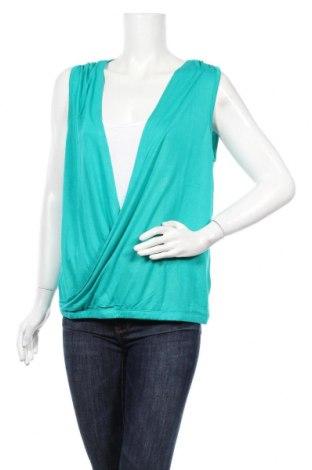 Γυναικείο αμάνικο μπλουζάκι Lascana, Μέγεθος M, Χρώμα Πράσινο, Βισκόζη, Τιμή 8,25€