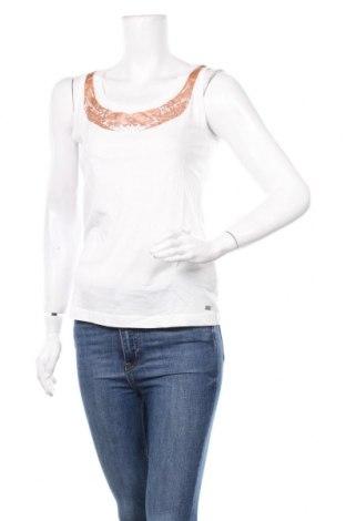 Γυναικείο αμάνικο μπλουζάκι Laura Scott, Μέγεθος S, Χρώμα Λευκό, 50% βαμβάκι, 50% μοντάλ, Τιμή 7,09€