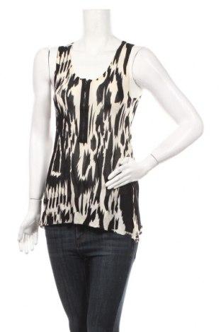 Γυναικείο αμάνικο μπλουζάκι Lauren Vidal, Μέγεθος M, Χρώμα  Μπέζ, 68% λινό, 32% βισκόζη, Τιμή 7,83€