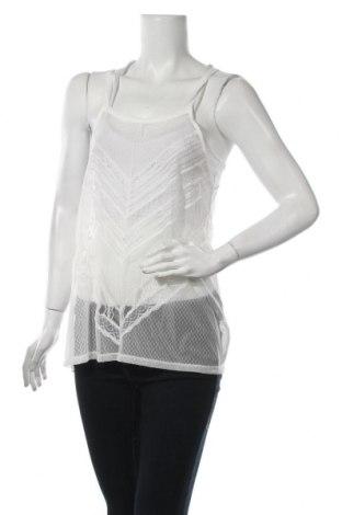 Γυναικείο αμάνικο μπλουζάκι Lauren Vidal, Μέγεθος S, Χρώμα Λευκό, 80% πολυαμίδη, 20% ελαστάνη, Τιμή 11,57€