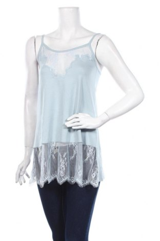 Γυναικείο αμάνικο μπλουζάκι Lauren Vidal, Μέγεθος XS, Χρώμα Μπλέ, 94% μοντάλ, 6% ελαστάνη, Τιμή 9,60€
