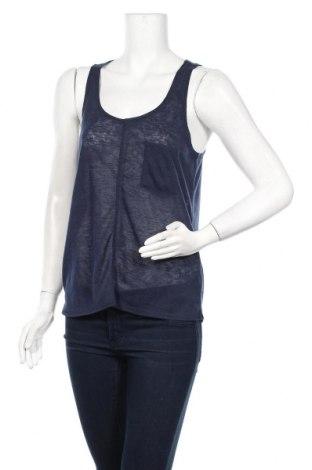 Γυναικείο αμάνικο μπλουζάκι Lefties, Μέγεθος M, Χρώμα Μπλέ, Πολυεστέρας, Τιμή 5,32€