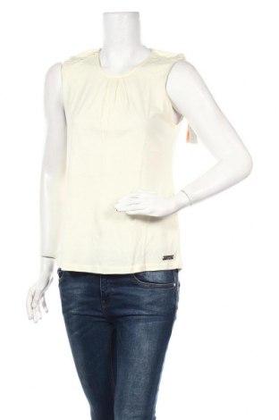 Γυναικείο αμάνικο μπλουζάκι Little Marcel, Μέγεθος M, Χρώμα Κίτρινο, 50% βαμβάκι, 50% βισκόζη, Τιμή 6,43€