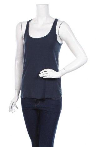 Γυναικείο αμάνικο μπλουζάκι Little Marcel, Μέγεθος S, Χρώμα Μπλέ, Βαμβάκι, Τιμή 5,99€