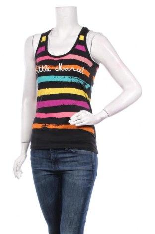 Γυναικείο αμάνικο μπλουζάκι Little Marcel, Μέγεθος XS, Χρώμα Πολύχρωμο, Βαμβάκι, Τιμή 6,43€