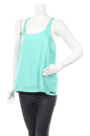 Γυναικείο αμάνικο μπλουζάκι Little Marcel, Μέγεθος XL, Χρώμα Πράσινο, Βισκόζη, βαμβάκι, Τιμή 6,43€