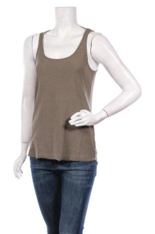 Γυναικείο αμάνικο μπλουζάκι Little Marcel, Μέγεθος M, Χρώμα Πράσινο, Βαμβάκι, Τιμή 6,43€