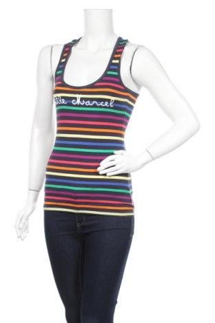 Γυναικείο αμάνικο μπλουζάκι Little Marcel, Μέγεθος XS, Χρώμα Πολύχρωμο, 95% βαμβάκι, 5% ελαστάνη, Τιμή 6,43€