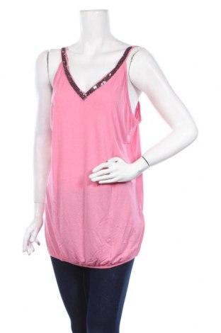 Γυναικείο αμάνικο μπλουζάκι Melrose, Μέγεθος XL, Χρώμα Ρόζ , Βισκόζη, Τιμή 9,89€