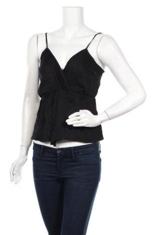 Γυναικείο αμάνικο μπλουζάκι Oysho, Μέγεθος S, Χρώμα Μαύρο, Βισκόζη, Τιμή 4,62€