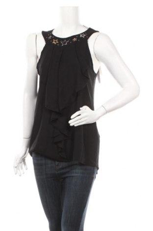 Γυναικείο αμάνικο μπλουζάκι Rinascimento, Μέγεθος L, Χρώμα Μαύρο, 96% πολυεστέρας, 4% ελαστάνη, Τιμή 6,32€