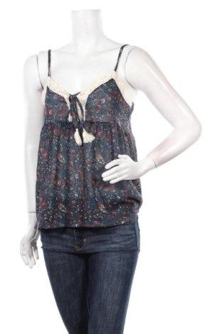 Γυναικείο αμάνικο μπλουζάκι Springfield, Μέγεθος L, Χρώμα Πολύχρωμο, Πολυεστέρας, Τιμή 5,57€
