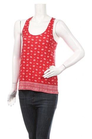 Γυναικείο αμάνικο μπλουζάκι Springfield, Μέγεθος S, Χρώμα Κόκκινο, 50% βαμβάκι, 50% βισκόζη, Τιμή 4,59€