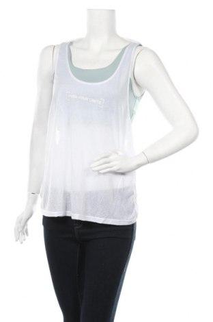 Γυναικείο αμάνικο μπλουζάκι Undiz, Μέγεθος L, Χρώμα Λευκό, Πολυεστέρας, Τιμή 7,42€