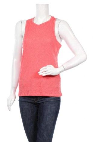 Γυναικείο αμάνικο μπλουζάκι Undiz, Μέγεθος XL, Χρώμα Ρόζ , 65% πολυεστέρας, 35% βαμβάκι, Τιμή 4,62€
