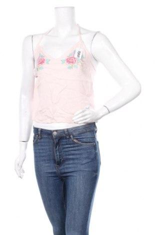 Γυναικείο αμάνικο μπλουζάκι Undiz, Μέγεθος S, Χρώμα Ρόζ , Βισκόζη, Τιμή 4,19€