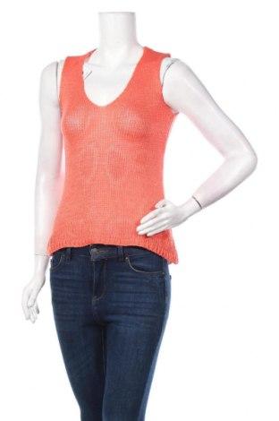 Дамски пуловер, Размер M, Цвят Оранжев, Акрил, Цена 5,55лв.