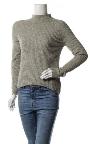 Дамски пуловер Amisu, Размер XXS, Цвят Сив, 70% полиакрил, 27% полиестер, 3% еластан, Цена 25,94лв.