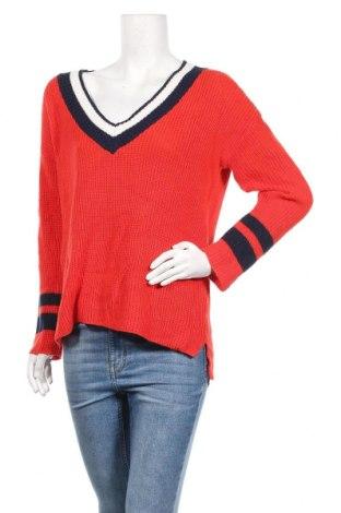 Дамски пуловер Amisu, Размер M, Цвят Червен, 50% акрил, 50% памук, Цена 27,93лв.