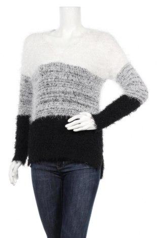 Дамски пуловер Amisu, Размер S, Цвят Бял, Полиестер, Цена 25,94лв.