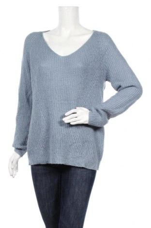 Дамски пуловер Amisu, Размер L, Цвят Син, Цена 23,94лв.