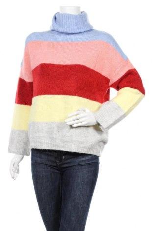 Дамски пуловер Amisu, Размер S, Цвят Многоцветен, Цена 26,93лв.