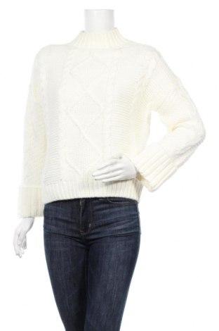 Дамски пуловер Amisu, Размер S, Цвят Екрю, Цена 25,94лв.