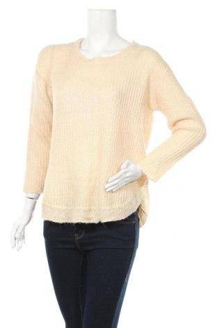 Дамски пуловер Amisu, Размер S, Цвят Екрю, Цена 21,95лв.