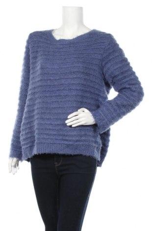 Дамски пуловер Andrea, Размер XL, Цвят Лилав, 90% полиестер, 10% акрил, Цена 21,95лв.