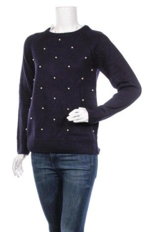 Дамски пуловер C&Jo, Размер M, Цвят Син, 40% мохер, 40% акрил, 20% кашмир, Цена 58,50лв.