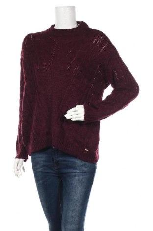 Дамски пуловер Hampton Republic, Размер M, Цвят Червен, 37% полиамид, 33% акрил, 25% мохер, 5% вълна, Цена 35,70лв.