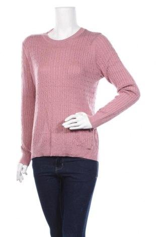 Дамски пуловер Hampton Republic, Размер M, Цвят Розов, 49% полиамид, 22% акрил, 18% вискоза, 11% вълна, Цена 27,30лв.