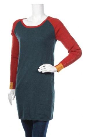 Дамски пуловер Karl Marc John, Размер M, Цвят Зелен, 27% памук, 27% вискоза, 19% полиамид, 10% коприна, 10% кашмир, 7% ангора, Цена 69,30лв.