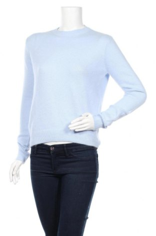Дамски пуловер Maje, Размер M, Цвят Син, 58% полиамид, 38% ангора, 4% вълна, Цена 216,75лв.