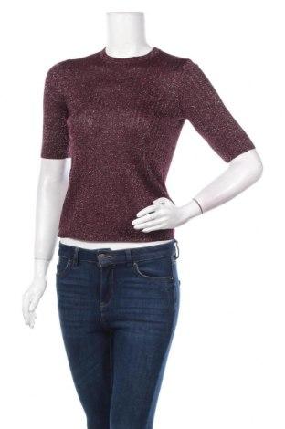 Дамски пуловер Reserved, Размер M, Цвят Лилав, 68% вискоза, 20% метални нишки, 12% полиамид, Цена 24,15лв.