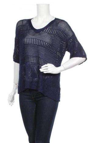 Дамски пуловер Rockmans, Размер M, Цвят Син, Вискоза, Цена 6,09лв.