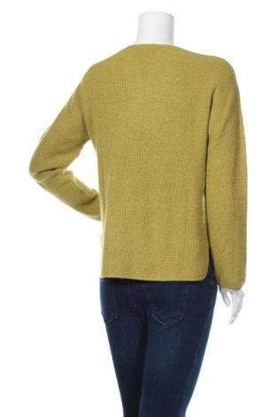 Дамски пуловер Rodier, Размер L, Цвят Зелен, 33% вискоза, 23% полиамид, 20% памук, 20% вълна, 4% кашмир, Цена 111,75лв.