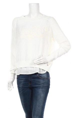Дамски пуловер TWINSET, Размер S, Цвят Бял, Памук, полиестер, Цена 101,32лв.
