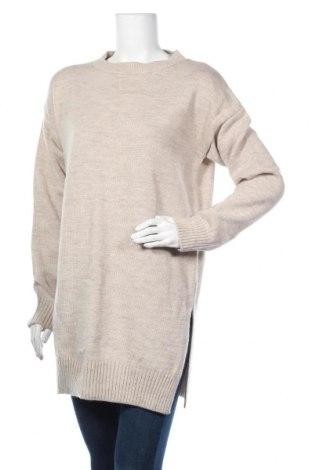 Дамски пуловер Zibi London, Размер M, Цвят Сив, 50% вълна, 50% акрил, Цена 48,30лв.