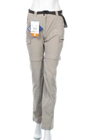 Дамски спортен панталон Trangoworld, Размер S, Цвят Бежов, 93% полиамид, 7% еластан, Цена 69,50лв.