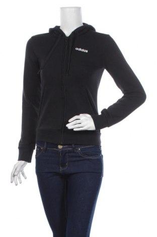 Дамски суичър Adidas, Размер XXS, Цвят Черен, 52% памук, 48% полиестер, Цена 65,40лв.