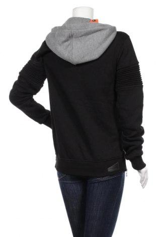 Дамски суичър Cipo & Baxx, Размер M, Цвят Черен, 65% памук, 35% полиестер, Цена 31,85лв.