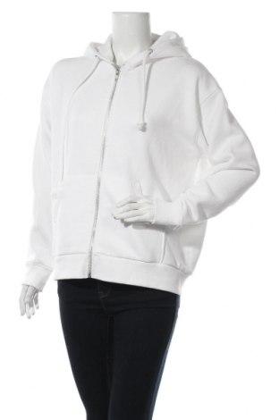 Дамски суичър Weekday, Размер S, Цвят Бял, 60% памук, 40% полиестер, Цена 43,50лв.