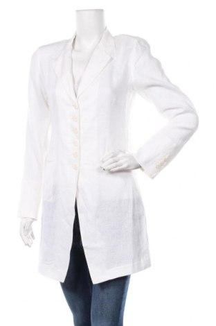 Γυναικείο παλτό Armand Ventilo, Μέγεθος S, Χρώμα Λευκό, Λινό, Τιμή 64,92€