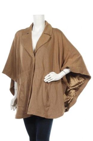 Дамско палто Estelle, Размер M, Цвят Бежов, 67% вискоза, 28% полиамид, 5% еластан, Цена 11,03лв.