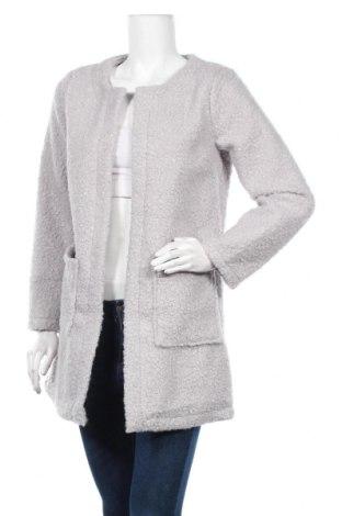 Дамско палто Made In Italy, Размер M, Цвят Сив, 90% полиестер, 10% вълна, Цена 71,40лв.