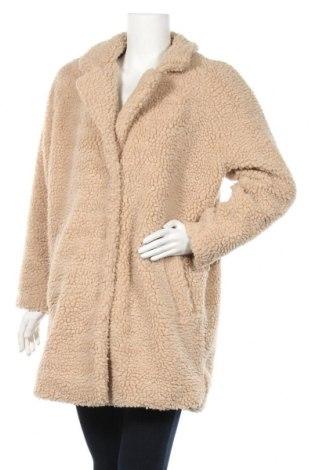 Дамско палто ONLY, Размер M, Цвят Бежов, Полиестер, Цена 59,85лв.