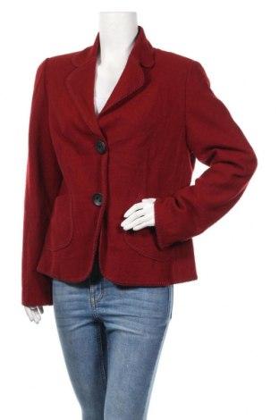 Дамско сако, Размер XL, Цвят Червен, Вълна, Цена 30,45лв.