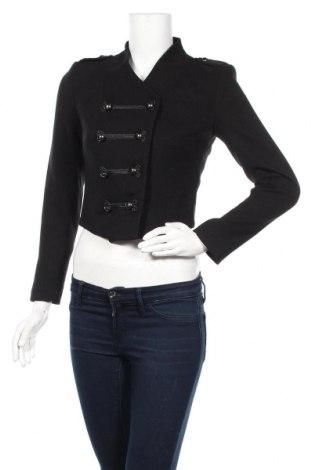 Дамско сако H&M, Размер S, Цвят Черен, 68% полиестер, 30% вискоза, 2% еластан, Цена 28,35лв.
